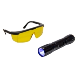 TP-9355 by TRACER PRODUCTS - Dual-Max Dual Head Flashlight with Blue/White Light