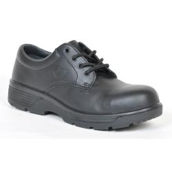 BTCC7 by BLUE TONGUE - Black oxford style low cut shoe with Composite Toe