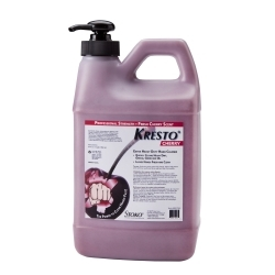 99027564 by STOCKHAM - KRESTO® Cherry Hand Cleaner, 1/2 Gallon Pump Top Bottle