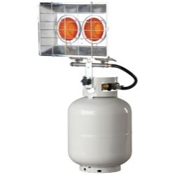 F242650 by MR. HEATER, INC. - Tank Top Heater, Twin Burner, 8,000 - 30,000 BTU