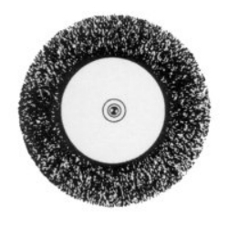 16792 by VERMONT AMERICAN TOOLS - Fine Wire Wheel Brush  3 in.