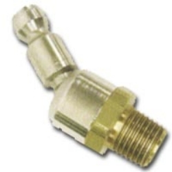 """A925N4BS by ACME AUTOMOTIVE - 1/4"""" Body Size, 1/4"""" MPT - Automotive Interchange, Ball Swirl Connector"""