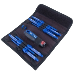 ST9012 by SIR TOOLS - 9 Piece Professional 1000V Insulated Screwdriver Kit