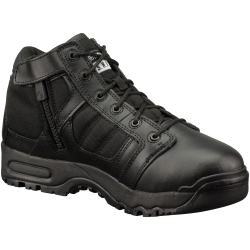 "1231-BLK-8.0 by THE ORIGINAL SWAT FOOTWEAR CO - 5"" Non Visible Air (N.V.A.) Shoe with Side Zipper, Size 8.0"