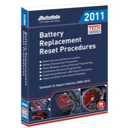 11-500 by AUTODATA - Battery Replacement Reset Procedure Manual