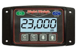 201-EDG-01 by RIGHT WEIGH - E-Z Weigh Digital Scale For Single Leveling Valve Systems
