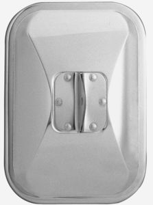 "30501 by CHAM-CAL - 7 1/2""x 10 1/2"" Medium Duty Truck Mirror, Stainless Steel"