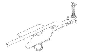 TF-TLN-5001 by SAF HOLLAND - FIFTH WHEEL LOCK ADJUSTMENT TOOL