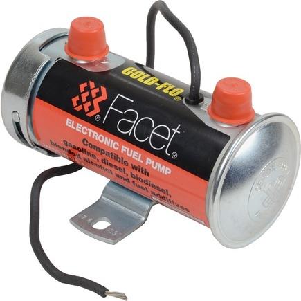 476459N by FACET FUEL PUMPS - GOLD-FLO Electric Fuel Pump, 6-8 PSI, 12 Volt