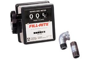 "807CMK by FILL-RITE - 3-Wheel Mechanical, 3/4"" Meter"