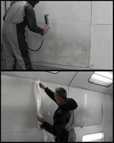 10032 by LIKE 90 - Like90 White Peelable Booth Coating, Gallon