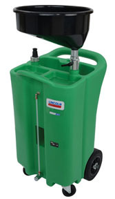 3627 by LINCOLN INDUSTRIAL - 26-GAL USED COOL.POLYETH DRAIN