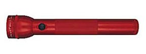 """S3D036 by MAG INSTRUMENT - MagLite® 3 """"D"""" Cell Flashlight, Red"""