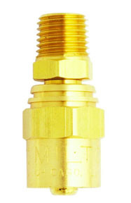 615 by MILTON INDUSTRIES - HOSE END 1/4 X 9/16
