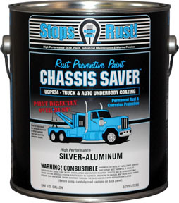 UCP934-01 by MAGNET PAINT CO - Chassis Saver™ Silver Aluminum, Gallon
