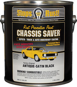 UCP970-01 by MAGNET PAINT CO - Chassis Saver™ Antique Satin Black, Gallon