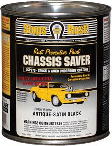 UCP970-04 by MAGNET PAINT CO - Chassis Saver™ Antique Satin Black, Quart