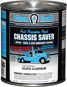 UCP934-04 by MAGNET PAINT CO - Chassis Saver™ Silver Aluminum, Quart