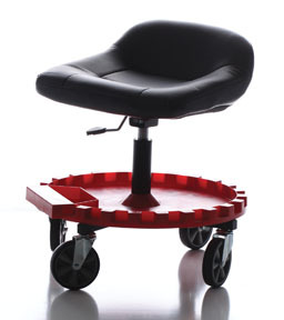 2-230 by TRAXION, INC. - Traxion Monster Seat II with All-Terrain 5 inch Casters