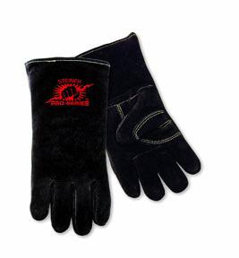 2600B-L by STEINER - Welding Gloves, B-Series, Side Split Cowhide, Foam Lined, Lg