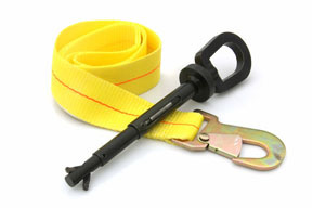 71490 by STECK - I-Bolt Universal Tow Eye w/ Safety Strap