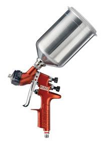703676 by TEKNA - Copper High Efficiency Gravity Spray gun, 1.3mm