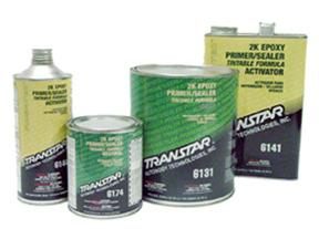 6134 by TRANSTAR - 2K Epoxy Primer Gray, 1-Quart
