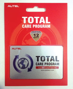 TCP-1YR by AUTEL - 1 Year Total Care Protection Software Update for DS708