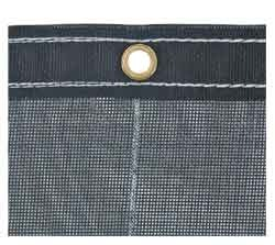 3011350 by BUYERS PRODUCTS - Black Mesh Replacement Tarp, 5-1/2' x 14'