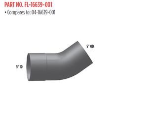 FL-16639-001 by GRAND ROCK - ELBOW 5 IN