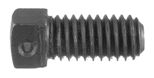 34 by BUYERS PRODUCTS - Square Head Set Screw 3/8-16 x 3/4 Inch With 3/32 Inch Diameter Hole