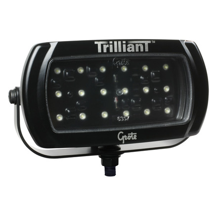 63771 by GROTE - Trilliant® LED WhiteLight™ High-Output Work Lamp, Wide Flood, 24V