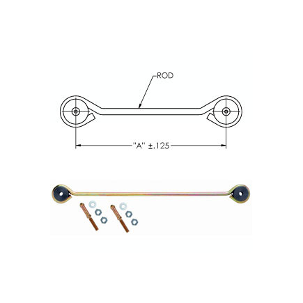 90554750 by HALDEX - Air susp. linkage