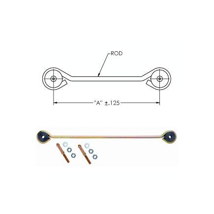 90554775 by HALDEX - Air susp. linkage