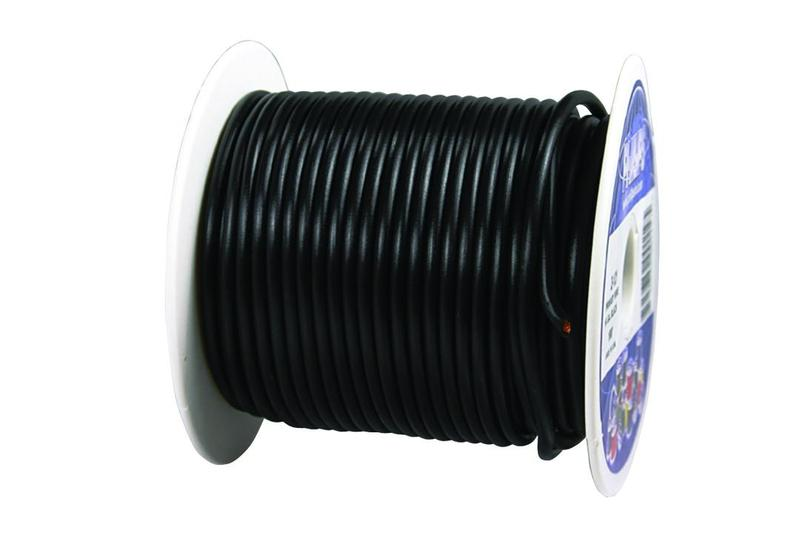 2-131 by PHILLIPS INDUSTRIES - Primary Wire - 12 ga., Black, 100 Ft ...