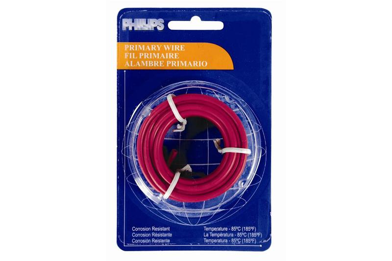 2-1323 by PHILLIPS INDUSTRIES - Primary Wire - 12 ga., Blue, 12 Ft ...
