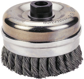 """1423-3159 by FIREPOWER - Cup Brush,3"""" Knotted Wire,"""
