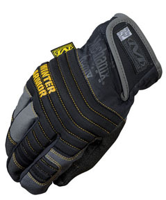 MCW-WA-009 by MECHANIX WEAR - Winter Armor 3M™ Thinsulate™ Insulation Gloves, Black, Medium