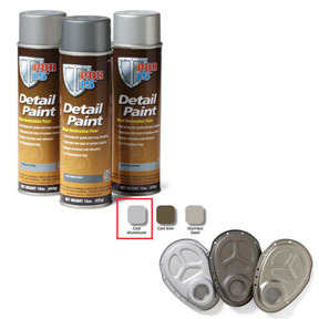 41618 by ABSOLUTE COATINGS (POR15) - Detail Paint Cast Aluminum, 15 oz. Spray