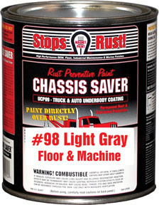 UCP98-04 by MAGNET PAINT CO - Chassis Saver Paint, Stops and Prevents Rust, Gray, 1 Quart Can
