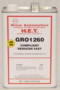 1260-1 by GROW AUTOMOTIVE - ZERO VOC FAST URETHANE REDUCER