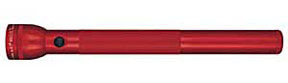 """S5D036 by MAG INSTRUMENT - MagLite® 5 """"D"""" Cell Flashlight, Red"""