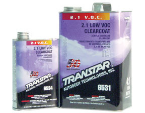 6534 by TRANSTAR - 2.1 Low V.O.C. Clearcoat