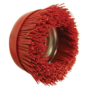 "51886 by AES INDUSTRIES - 6"" NYLON CUP BRUSH"