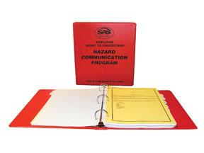 6000-50 by SAS SAFETY CORP - Hazard Communication Program Kit