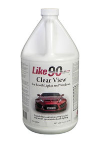 10034 by LIKE 90 - Like90 Light Coat Clear  Peelable Booth Coating, Gallon