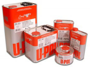 UP2392 by U-POL PRODUCTS - 2.1 VOC Hardeners: 2.1 VOC Standard Hardener, Clear, 5lbs