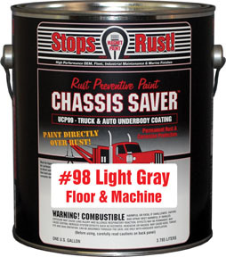 UCP98-01 by MAGNET PAINT CO - Chassis Saver Paint, Stops and Prevents Rust, Gray, 1 Gallon Can
