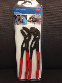 9K0080104US by KNIPEX - 2 Pc. Cobra® Set with Hose Clamp Pliers