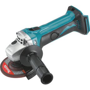 """XAG01Z by MAKITA - 18V LXT® Lithium-Ion Cordless 4-1/2"""" Cutoff/Angle Grinder, TOOL ONLY"""
